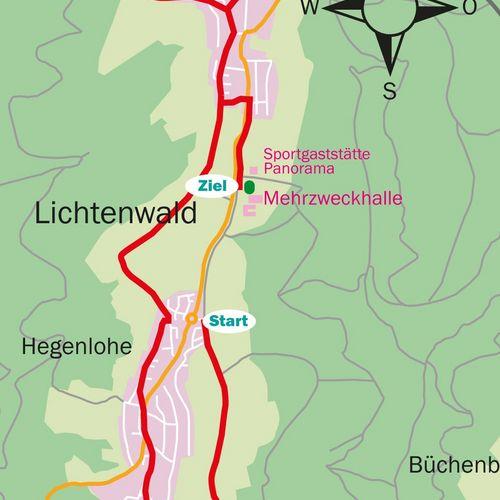 Unterberger 10 km-Lauf