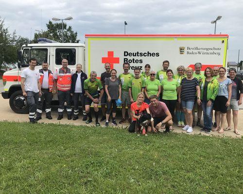 24-Stunden Spendenlauf für die DRK Ortsgruppe Baltmannsweiler
